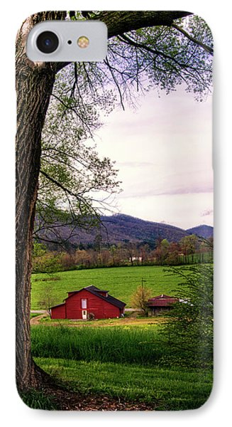 Barn In The Valley IPhone Case by Greg Mimbs