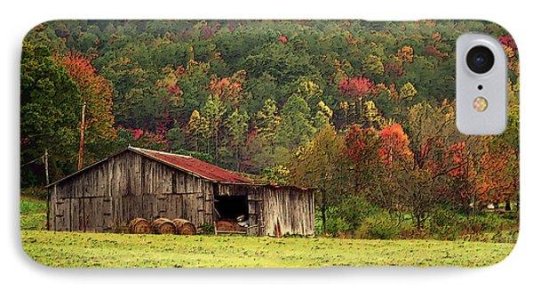 Barn North Carolina 1994 Phone Case by Michelle Wiarda