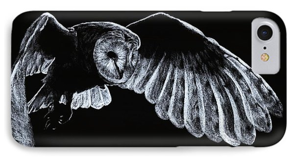 Barn Owl Phone Case by Richard Young