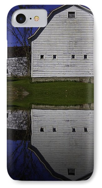 Barn Reflection IPhone Case by Garry Gay