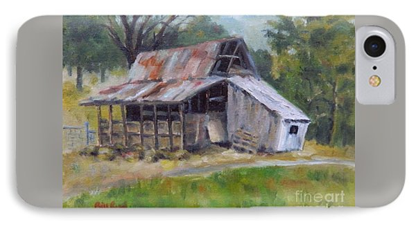 Barn Shack IPhone Case by William Reed
