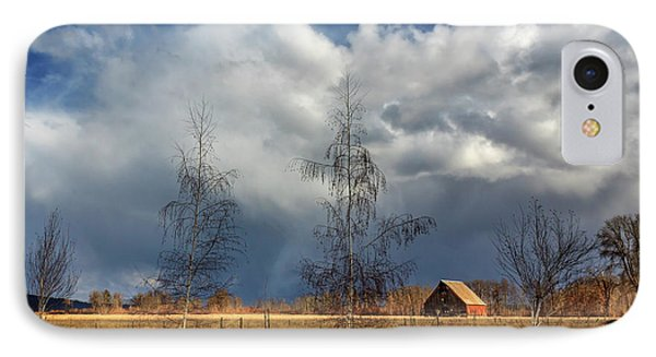 IPhone Case featuring the photograph Barn Storm by James Eddy