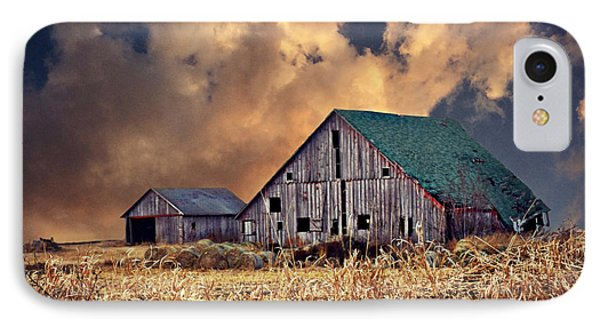 Barn Surrounded With Beauty IPhone Case