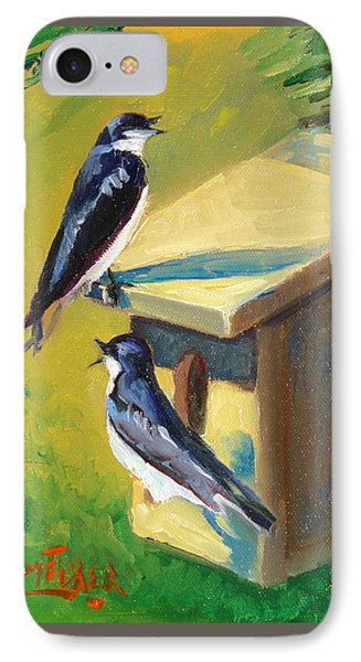 Barn Swallow Residence IPhone Case