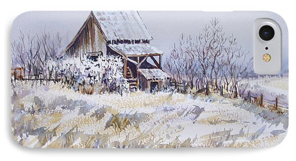 Barn Windmill Road IPhone Case