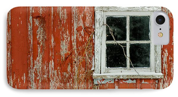 IPhone Case featuring the photograph Barn Window by Dan Traun