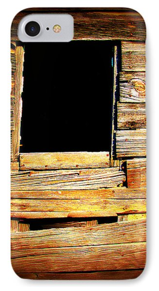 Barn Window Phone Case by Perry Webster