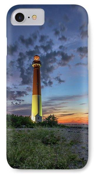 Barnegat Lighthouse At Dusk IPhone Case