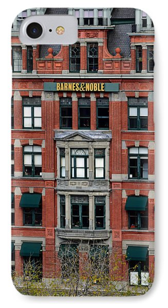 Barnes And Noble Union Square  IPhone 7 Case by Sandy Taylor