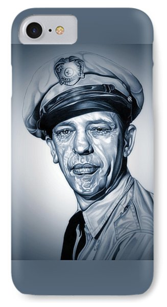 Barney Fife IPhone Case by Fred Larucci