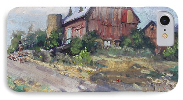 Barns In Georgetown IPhone Case by Ylli Haruni