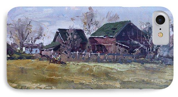 Barns In Niagara County IPhone Case