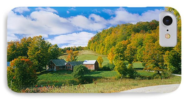 Barns Near A Road, Jenny Farm, Vermont IPhone Case