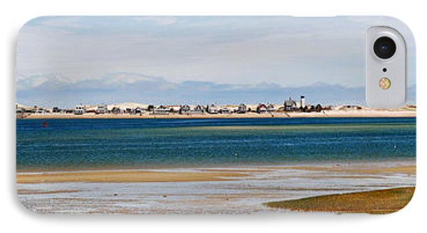 Barnstable Harbor Panorama Phone Case by Charles Harden