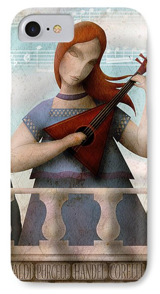 Baroque In Heart IPhone Case by Gary Bodnar