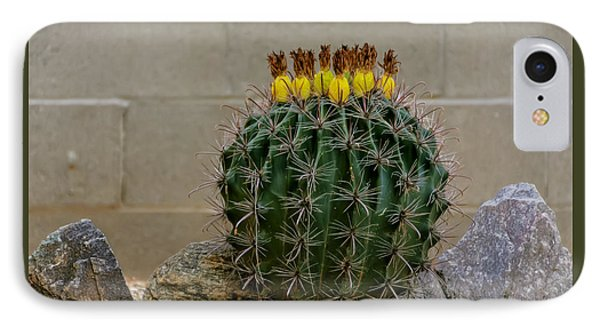 Barrel Against Wall No50 IPhone 7 Case by Mark Myhaver
