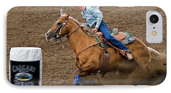 Barrel Racing Phone Case by Louise Heusinkveld