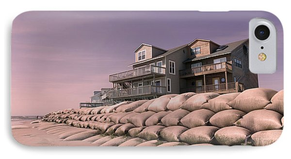 Barrier Island Migration  IPhone Case by Betsy Knapp