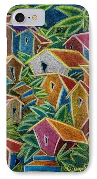Barrio Lindo IPhone Case by Oscar Ortiz
