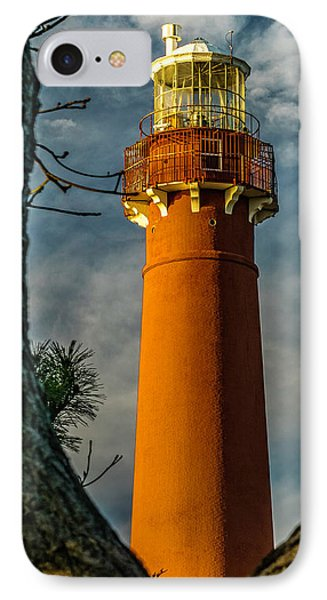 IPhone Case featuring the photograph Barrny Thru The Trees by Nick Zelinsky