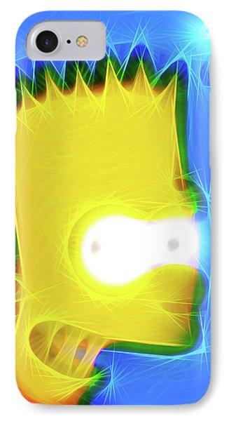 Bart Simpson IPhone Case