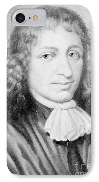 Baruch Spinoza, Jewish-dutch Philosopher Phone Case by Photo Researchers