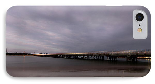 IPhone Case featuring the photograph Barwon Heads Bridge by Linda Lees