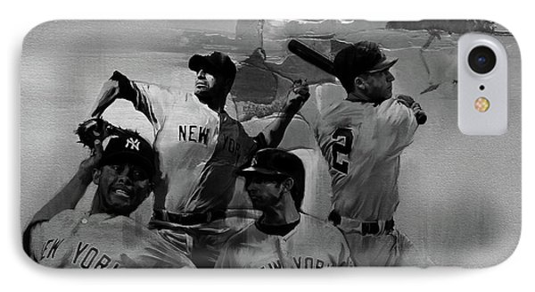 Base Ball Players IPhone Case by Gull G