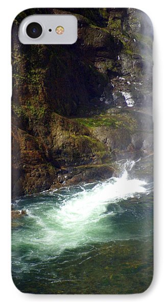 Base Of The Falls 1 Phone Case by Marty Koch