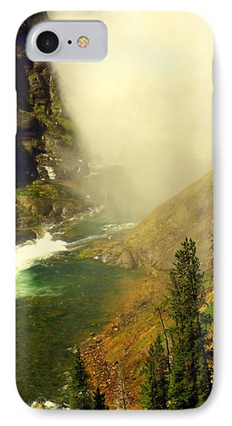 Base Of The Falls 2 Phone Case by Marty Koch