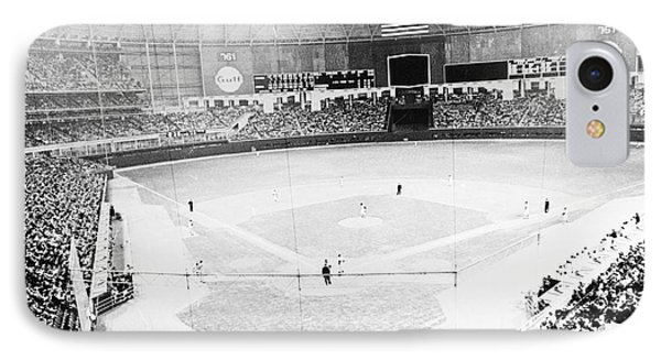 Baseball: Astrodome, 1965 IPhone Case by Granger