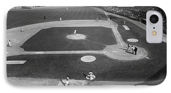 Baseball Game, 1967 IPhone Case by Granger