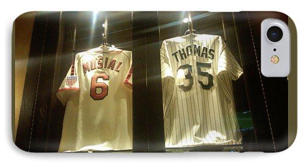 Baseball Greats IPhone Case by John Freidenberg