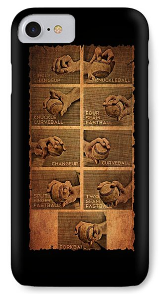 Baseball Pitching Styles IPhone Case