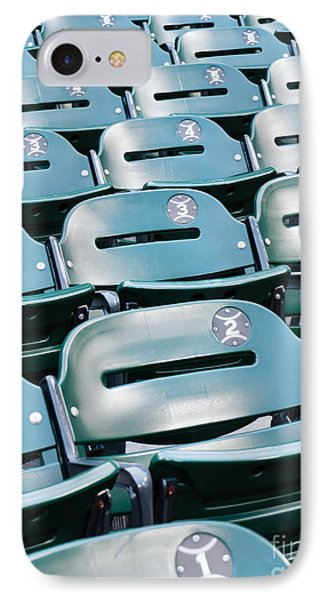 Baseball Stadium Seats IPhone Case by Paul Velgos