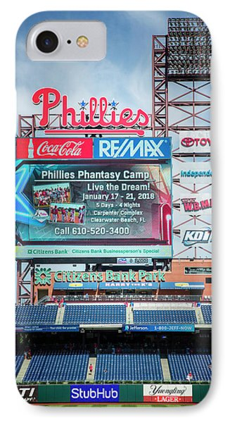Baseball Time In Philly IPhone Case