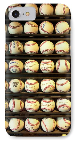 Baseball - You Have Got Some Balls There IPhone Case by Mike Savad