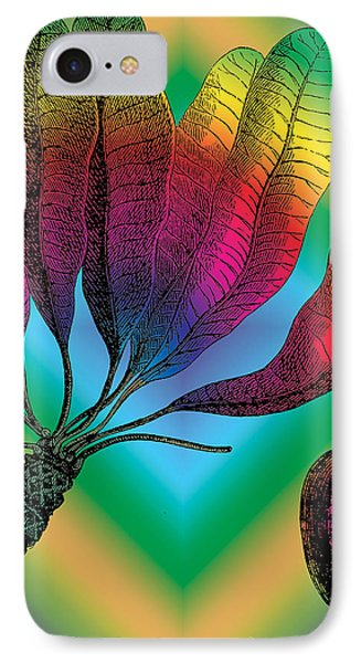 Basia Plant Phone Case by Eric Edelman