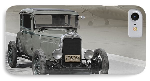 IPhone Case featuring the photograph Basic 1930 Ford by Bill Dutting