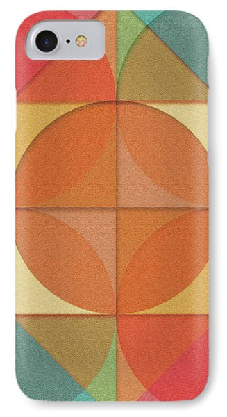 Basic Shapes IPhone Case by Gaspar Avila