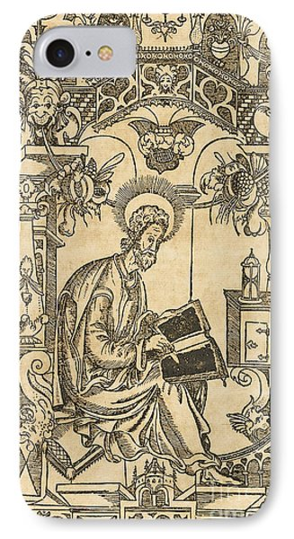 Basil Of Caesarea, Also Called Saint Basil The Great IPhone Case by Pyotr Mstislavets