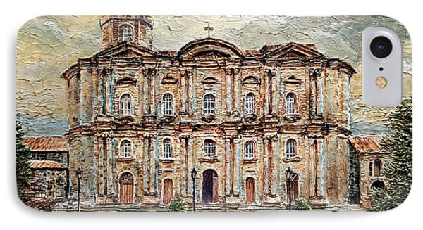 Basilica De San Martin De Tours IPhone Case by Joey Agbayani