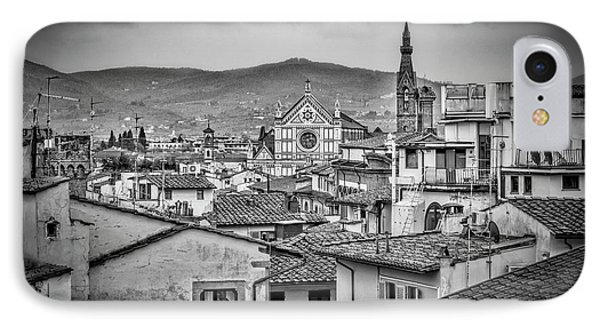 Basilica Di Santa Croce IPhone Case by Sonny Marcyan