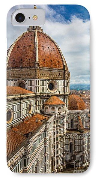 Basilica Di Santa Maria Del Fiore IPhone Case by Inge Johnsson