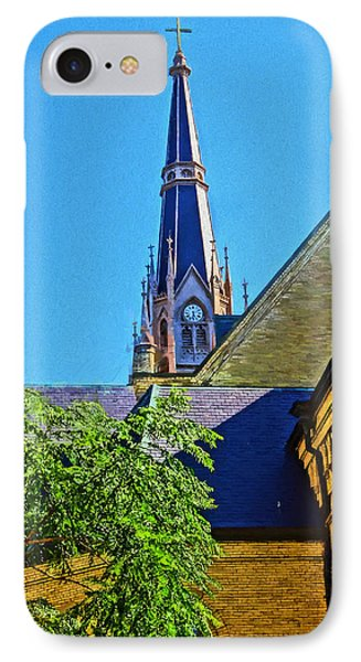 Basilica Of The Sacred Heart Notre Dame IPhone Case by Dan Sproul