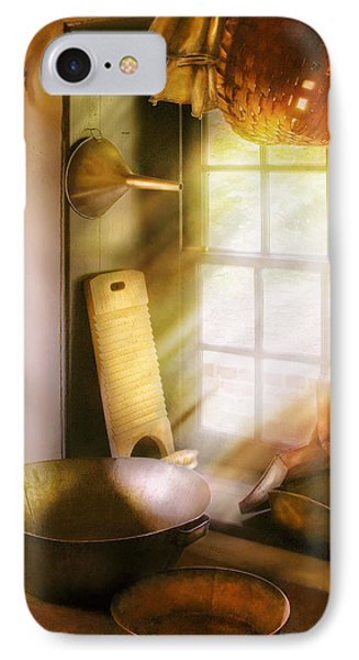 Basket Maker - In A Basket Makers House  IPhone Case by Mike Savad