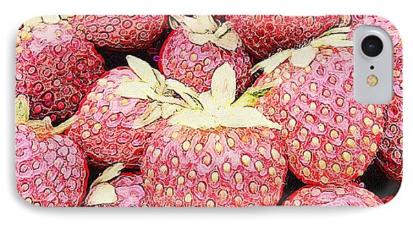 Basket Of Berries IPhone Case by Michele Meehl
