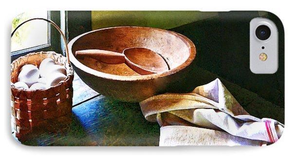 Basket Of Eggs Phone Case by Susan Savad