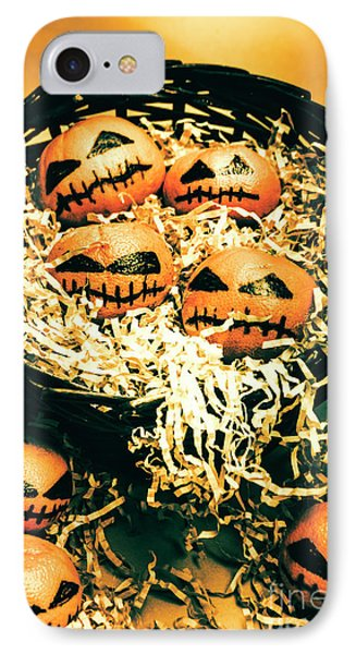 Basket Of Little Halloween Horrors IPhone Case