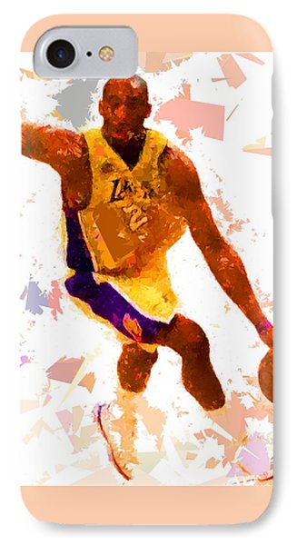 IPhone Case featuring the painting Basketball 24 A by Movie Poster Prints